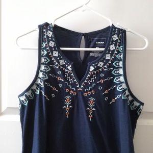 Sonoma Dresses - Navy Shift Dress Womens (Like New)